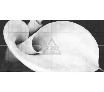 Декор-панно керамический GLOBALTILE 1608-0108 Unica Серый