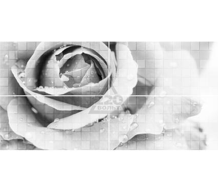Декор-панно керамический GLOBALTILE 1608-0109 Unica Серый