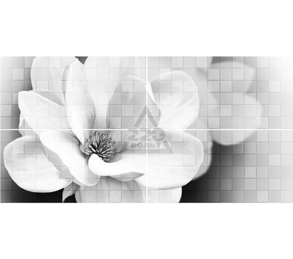 Декор-панно керамический GLOBALTILE 1608-0110 Unica Серый