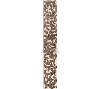 Бордюр керамический INTERCERAMA БВ01011 Venge Коричневый
