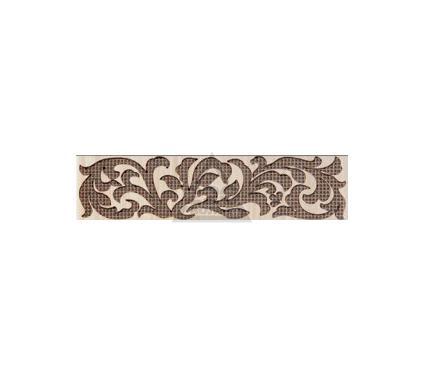 Бордюр керамический INTERCERAMA БШ01011 Venge Коричневый
