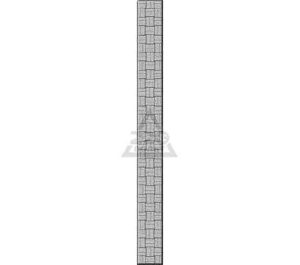 Бордюр стеклянный ROVESE (CERSANIT) GL7H371 Glass Серый