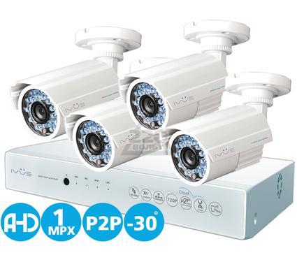 Комплект видеонаблюдения IVUE D5004 AHC-B4
