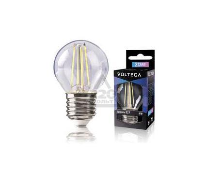Лампа светодиодная VOLTEGA VG1-G1E27cold4W-F
