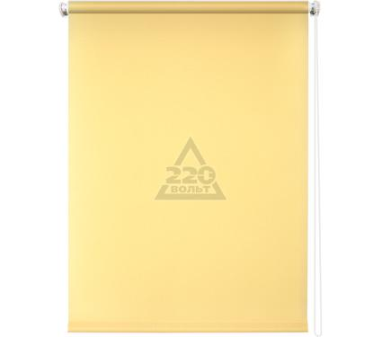 Рулонная штора УЮТ 90х175 Плайн светло-желтый