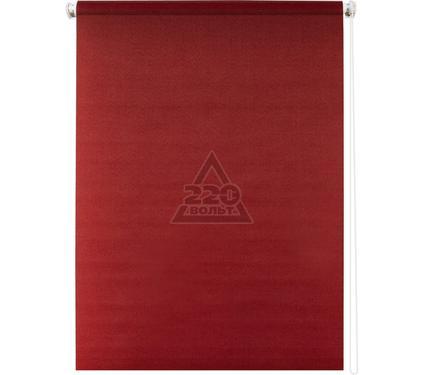 Рулонная штора УЮТ 140х175 Плайн красный