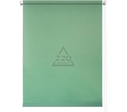 Рулонная штора УЮТ 90х175 Плайн светло-зеленый