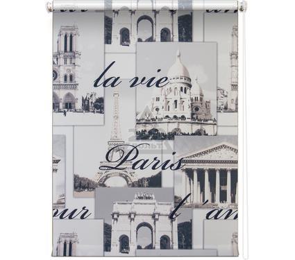 Рулонная штора УЮТ 140х175 Париж серый