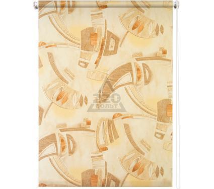 Рулонная штора УЮТ 90х175 Петра коричневый