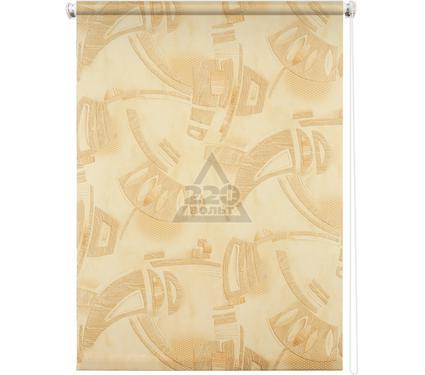 Рулонная штора УЮТ 80х175 Петра песочный