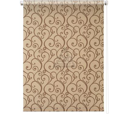 Рулонная штора УЮТ 120х175 Ампель коричневый