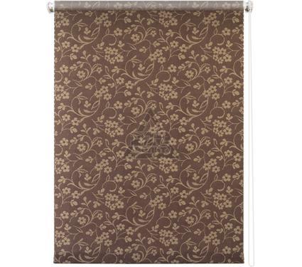Рулонная штора УЮТ 100х175 Моравия коричневый