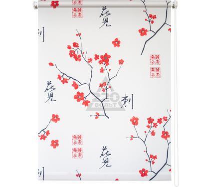 Рулонная штора УЮТ 80х175 Япония белый