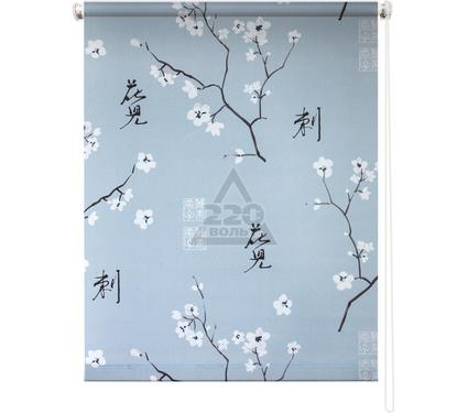 Рулонная штора УЮТ 90х175 Япония серый