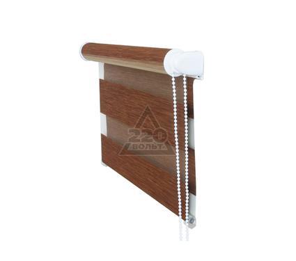 Рулонная штора УЮТ 120х160 Канзас коричневый