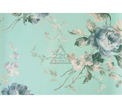 Рулонная штора УЮТ 90х175 Розарий голубой