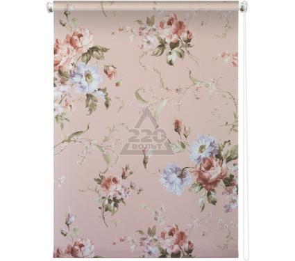 Рулонная штора УЮТ 50х175 Розарий розовый