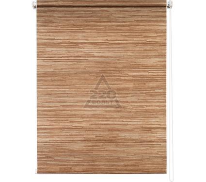 Рулонная штора УЮТ 140х175 Натурэль коричневый