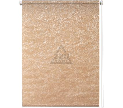 Рулонная штора УЮТ 140х175 Фрост коричневый
