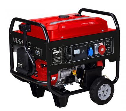 Бензиновый генератор ELITECH 179866 БЭС 12500ЕТМК