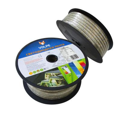 Лента светодиодная VOLPE ULS-Q125 3528-60LED/m-10mm-IP67-220V-4,8W/m-50M-WW