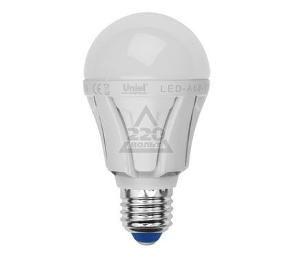 Лампа светодиодная UNIEL LED-A60-11W/NW/E27/FR ALP01WH