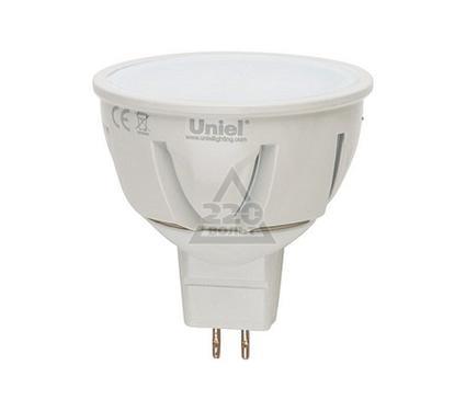 Лампа светодиодная UNIEL LED-JCDR-7W/WW/GU5.3/FR ALP01WH