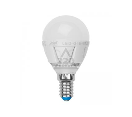 ����� ������������ VOLPE LED-G45-6W/NW/E14/FR/S