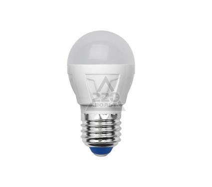 Лампа светодиодная VOLPE LED-G45-6W/NW/E27/FR/S