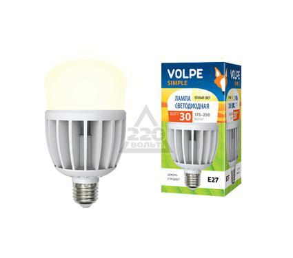 Лампа светодиодная VOLPE LED-M80-30W/WW/E27/FR/S