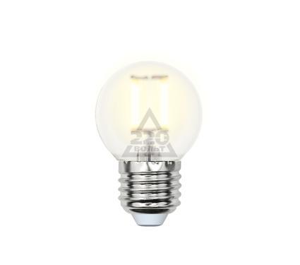 Лампа светодиодная UNIEL LED-G45-6W/WW/E27/FR PLS02WH