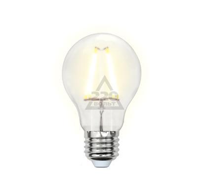 Лампа светодиодная UNIEL LED-A60-8W/WW/E27/FR PLS02WH