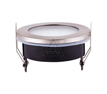 Светильник встраиваемый UNIEL GX53-9/2700/Н5 Серебро
