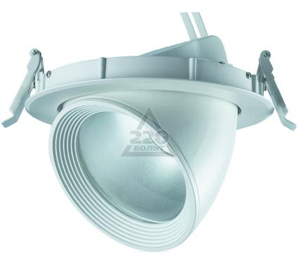 Светильник встраиваемый UNIEL ULK-M01E-20W/WW WHITE