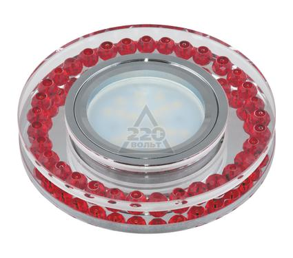 Светильник встраиваемый FAMETTO DLS-P104 GU5.3 CHROME/RED