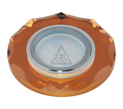 Светильник встраиваемый FAMETTO DLS-P105 GU5.3 CHROME/BRONZE