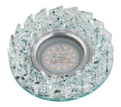 Светильник встраиваемый FAMETTO DLS-P108 GU5.3 CHROME/CLEAR