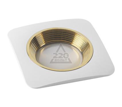 Светильник встраиваемый FAMETTO DLS-V102 GU5.3 WHITE+GOLD