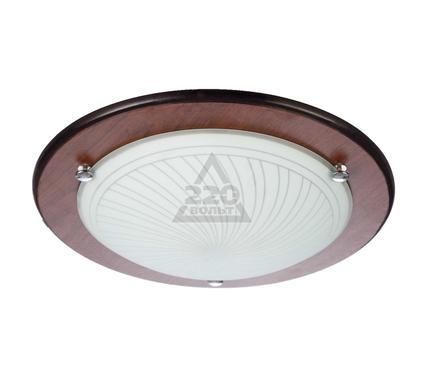 Светильник настенно-потолочный VOLPE ULI-Q105 15W/NW WHITE/WOOD