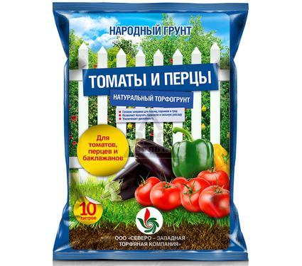 Грунт для томатов и перцев НАРОДНЫЙ ГРУНТ 13721