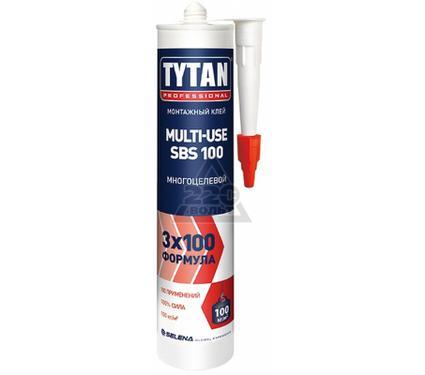 Клей монтажный TYTAN 7005560 MULTI-USE SBS-100 монтажный бежевый 310мл