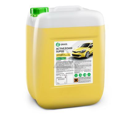 Автошампунь GRASS 380000 Active Foam Super