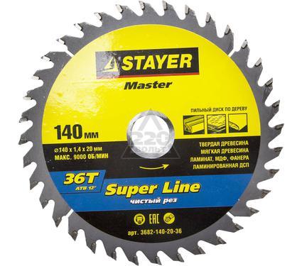 Диск пильный твердосплавный STAYER MASTER 3682-140-20-36