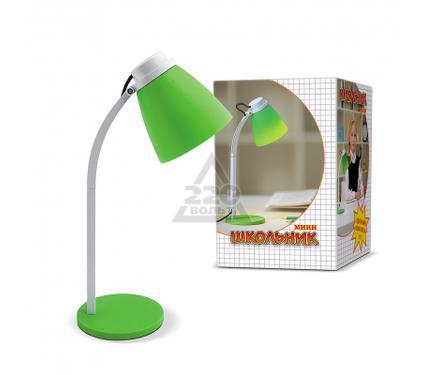 Лампа настольная ШКОЛЬНИК S-160 зеленая