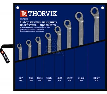 Набор ключей THORVIK ORWS008