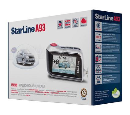 Сигнализация STARLINE A93+F1