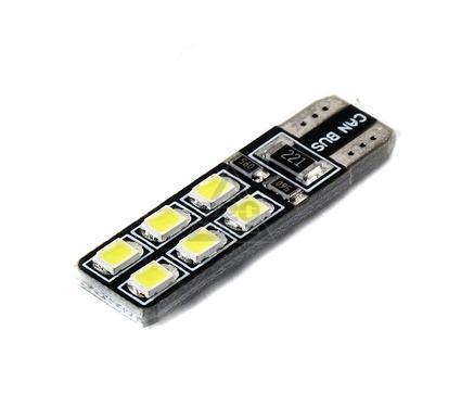 Лампа автомобильная ОРИОН T10-W5W 12SMD