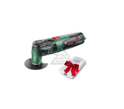 Инструмент многофункциональный BOSCH PMF 250 CES + внешний аккумулятор Bosch В ПОДАРОК