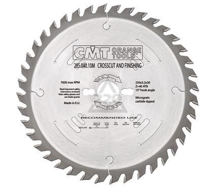 Круг пильный твердосплавный CMT 285.048.10M