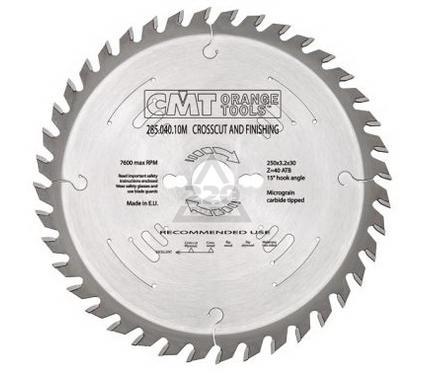 Круг пильный твердосплавный CMT 285.072.22M